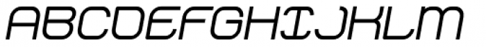 Stak Bold Oblique Font UPPERCASE