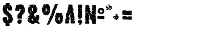 Stalker Font OTHER CHARS