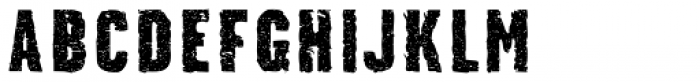 Stalker Font UPPERCASE