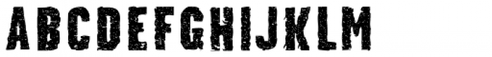 Stalker Font LOWERCASE