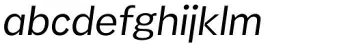 Stamen Extra Light Italic Font LOWERCASE
