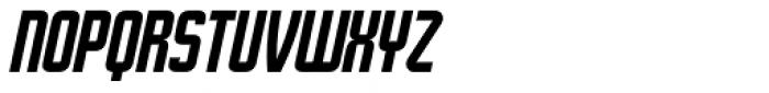 Stamina Italic Font UPPERCASE