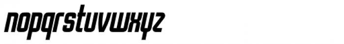 Stamina Italic Font LOWERCASE