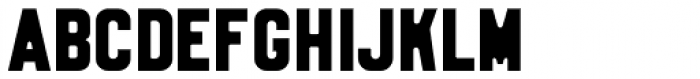Stamped Metal JNL Font LOWERCASE