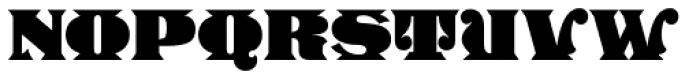 Stampede Font UPPERCASE