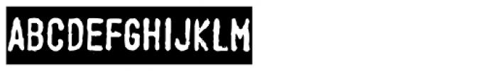 Stamppad Black Font UPPERCASE