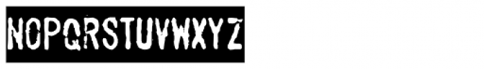 Stamppad Black Font LOWERCASE
