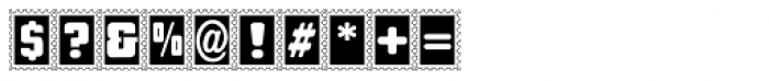 Stamps Font OTHER CHARS