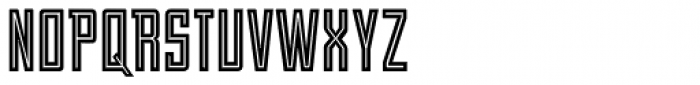 Stand By 4 Action Equal Font UPPERCASE