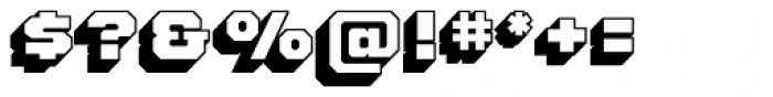 Standard Shaded Slab Font OTHER CHARS