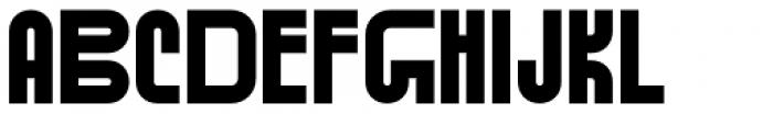 Standard-bb 100 Font UPPERCASE