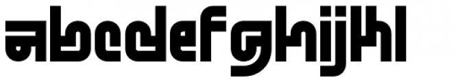 Standard-bb 100 Font LOWERCASE