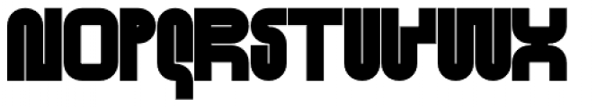 Standard-bb 120 Font UPPERCASE