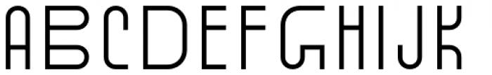 Standard-bb 40 Font UPPERCASE
