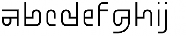 Standard-bb 40 Font LOWERCASE