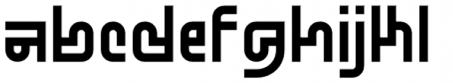 Standard-bb 80 Font LOWERCASE