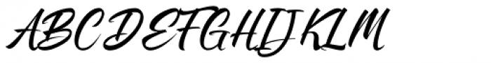 Stanffords Font UPPERCASE