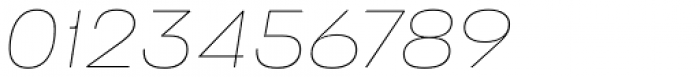 Stapel Thin Italic Font OTHER CHARS
