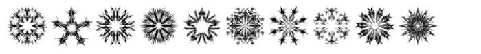 Star Crystals Font UPPERCASE