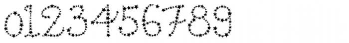 Star Cursive Font OTHER CHARS