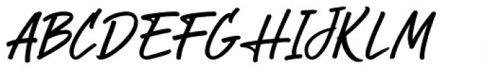 StarTrack Italic Font UPPERCASE