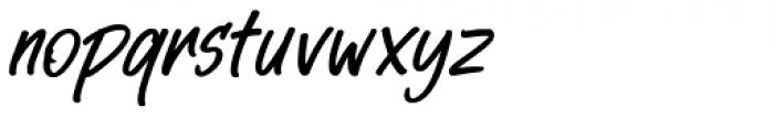 StarTrack Italic Font LOWERCASE