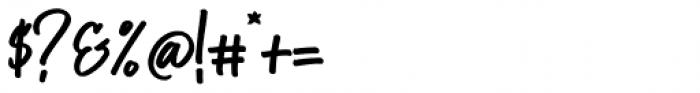 StarTrack Regular Font OTHER CHARS