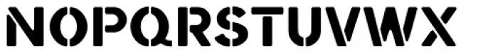 Starbounder Font UPPERCASE
