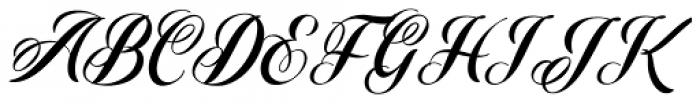 Starella Script Font UPPERCASE