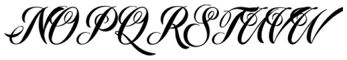 Starella Tattoo Regular Font UPPERCASE