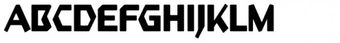 Starfighter TL Pro Cond Bold Font UPPERCASE