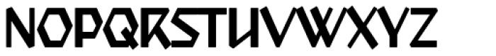 Starfighter TL Pro Cond Font UPPERCASE