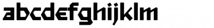 Starfighter TL Pro Ext Medium Font LOWERCASE