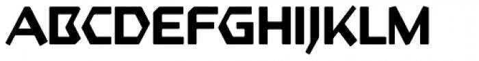 Starfighter TL Pro Medium Font UPPERCASE