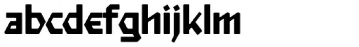 Starfighter TL Pro Medium Font LOWERCASE
