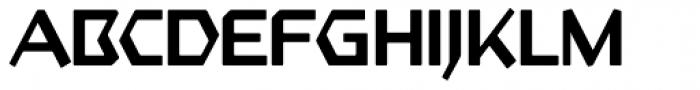 Starfighter TL Pro Regular Font UPPERCASE