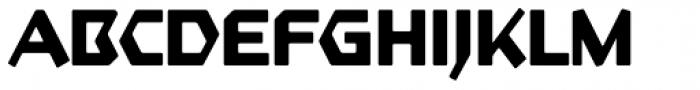 Starfighter TL Std Bold Font UPPERCASE