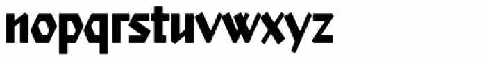 Starfighter TL Std Cond Bold Font LOWERCASE