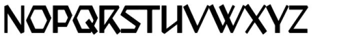 Starfighter TL Std Cond Light Font UPPERCASE