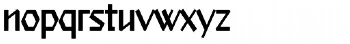 Starfighter TL Std Cond Light Font LOWERCASE