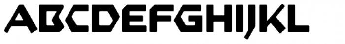 Starfighter TL Std Ext Bold Font UPPERCASE
