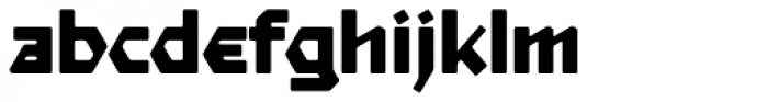 Starfighter TL Std Ext Bold Font LOWERCASE