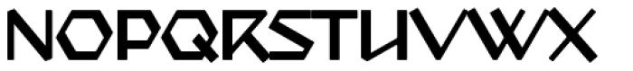 Starfighter TL Std Ext Light Font UPPERCASE