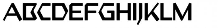 Starfighter TL Std Light Font UPPERCASE