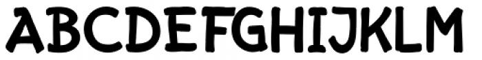 Starge Regular Font UPPERCASE