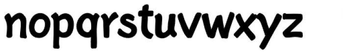 Starge Regular Font LOWERCASE