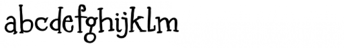 Starlight Lovers Bold Font LOWERCASE