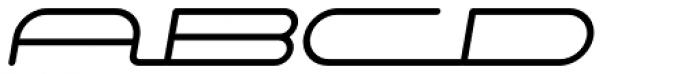 Starliner BTN Bold Oblique Font UPPERCASE