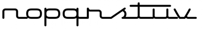Starliner BTN Bold Font LOWERCASE