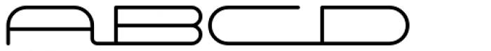 Starliner BTN Font UPPERCASE